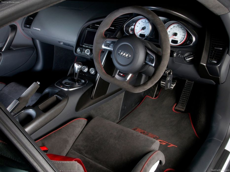 Audi R8 GT 2011supercars coupe interior wallpaper