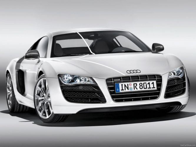 2010 Audi Coupe supercars v10 white wallpaper