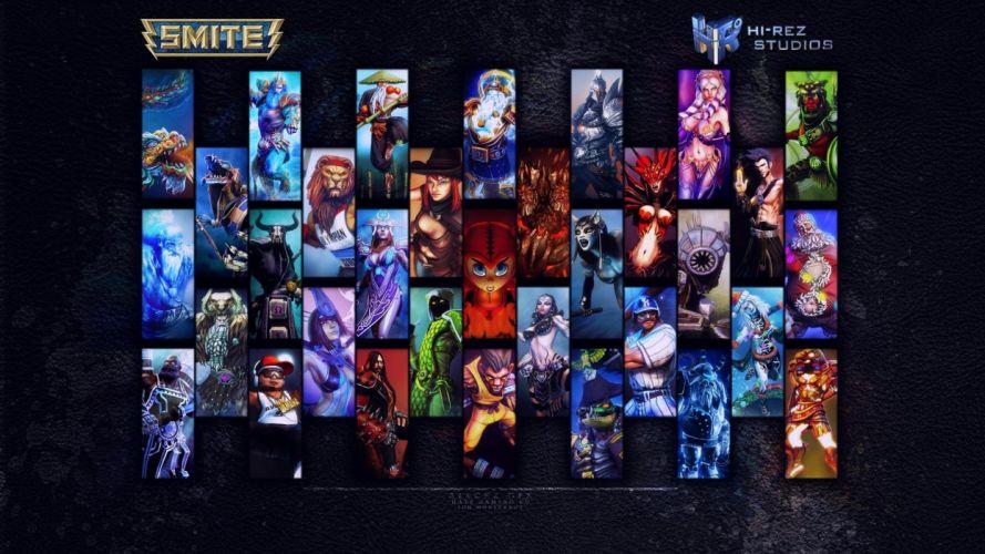 SMITE mmo online battle fighting fantasy warrior wallpaper