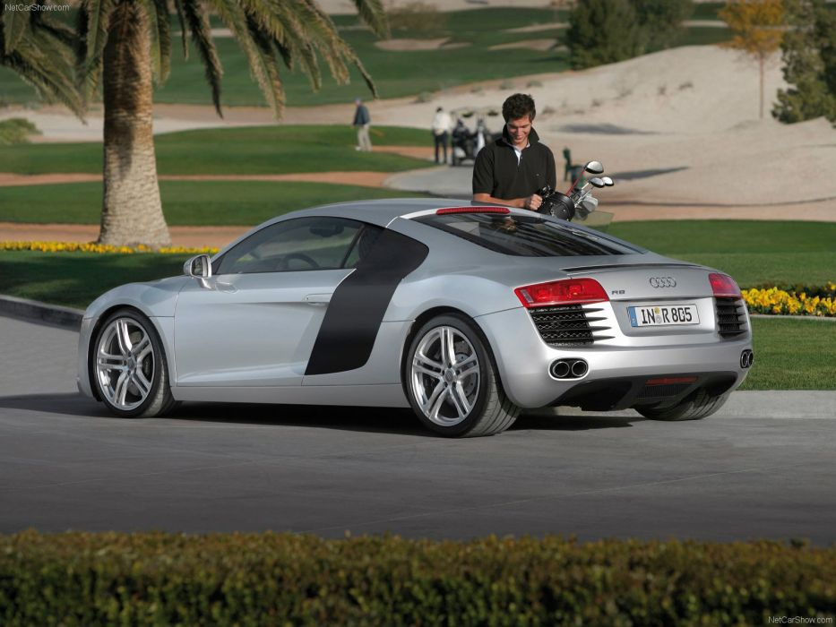 Audi R8 v8 fsi coupe supercars 2007 wallpaper