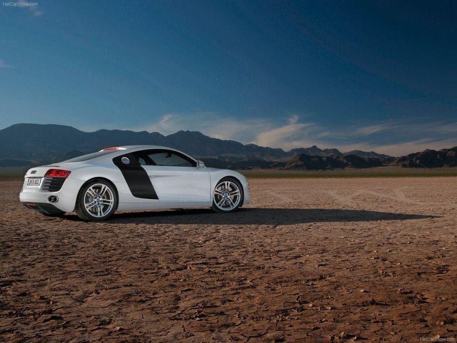 Audi R8 v8 fsi coupe supercars 2007 wallpaper