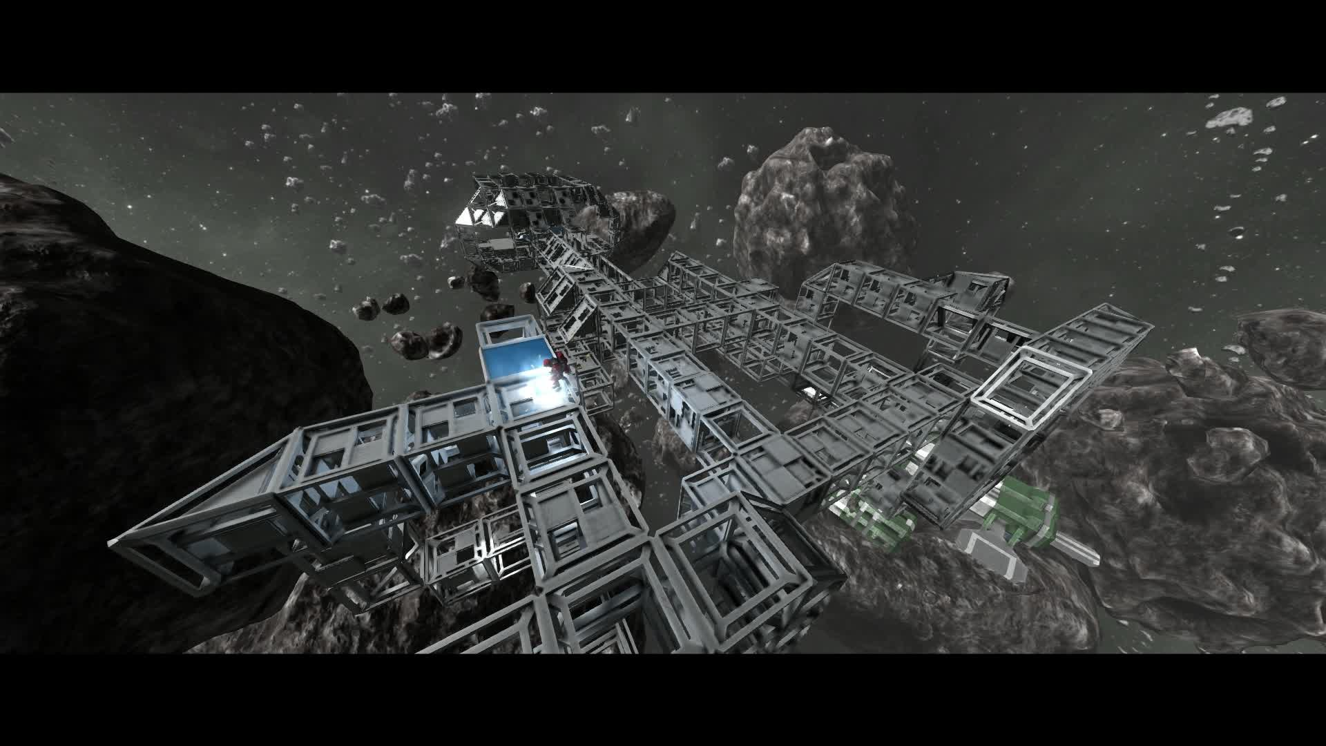 space engineers asteroid ship - photo #8