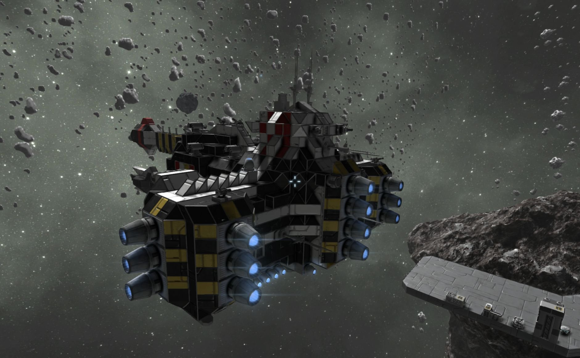 space engineers asteroid ship - photo #22