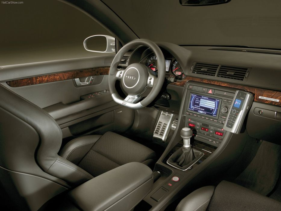 Audi RS 4 Avant 2006 interior wallpaper