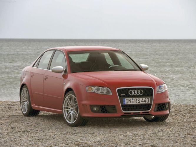Audi RS4 sedan 2006 wallpaper