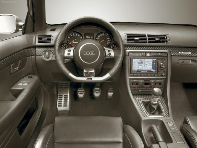 Audi RS4 sedan 2006 interior wallpaper