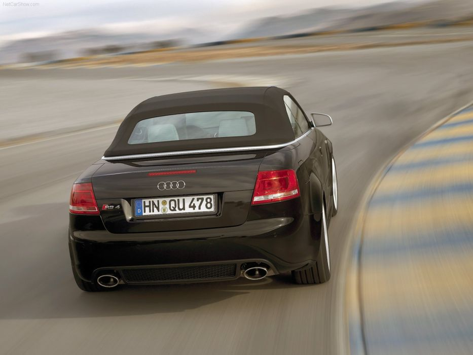 Audi RS 4 Cabriolet 2006 convertible wallpaper