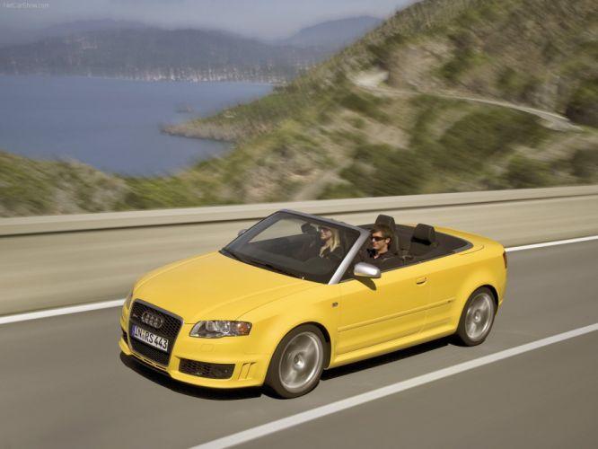 Audi RS 4 Cabriolet 2006 convertible wallpaper