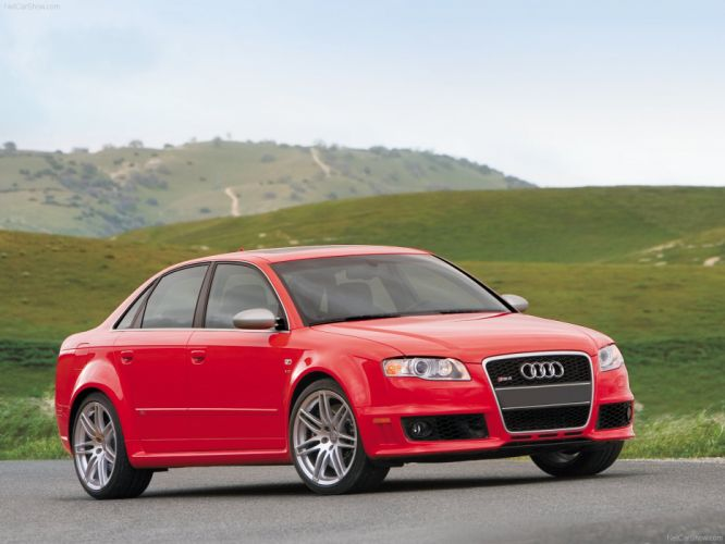 Audi RS4 sedan 2008 wallpaper