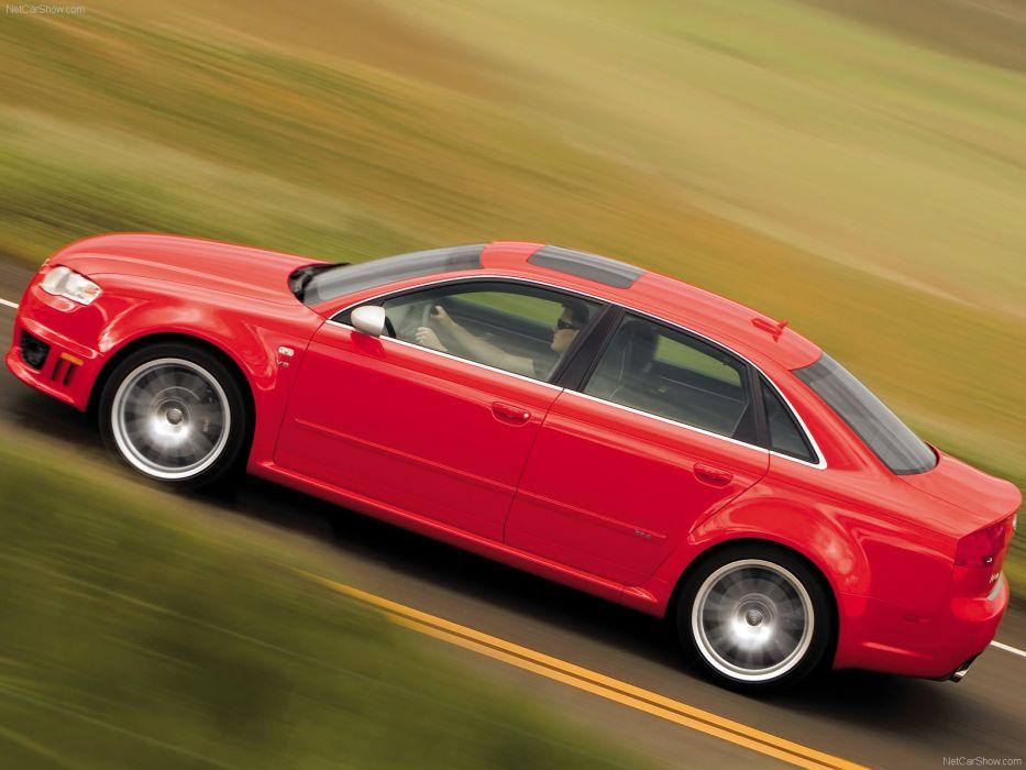 Audi RS4 sedan 2008 wallpaper