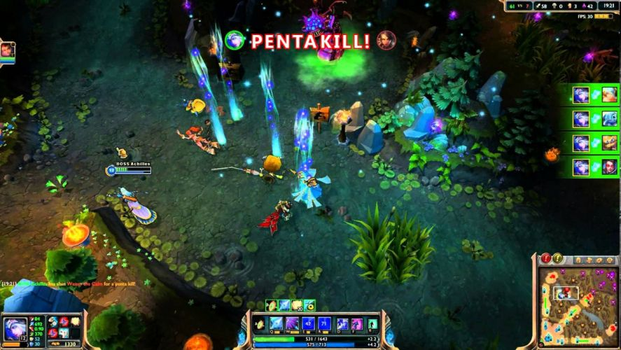 PENTAKILL League Legends fantasy heavy metal mmo online fighting wallpaper