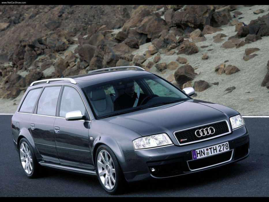 Audi RS6 Avant 2002 wallpaper
