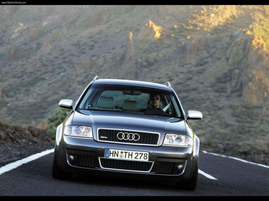 Audi RS6 Avant 2002 wallpaper