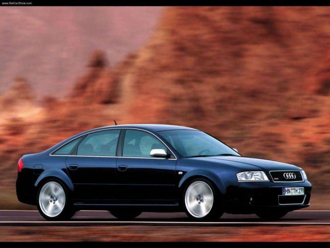 Audi RS6 Sedan 2002 wallpaper