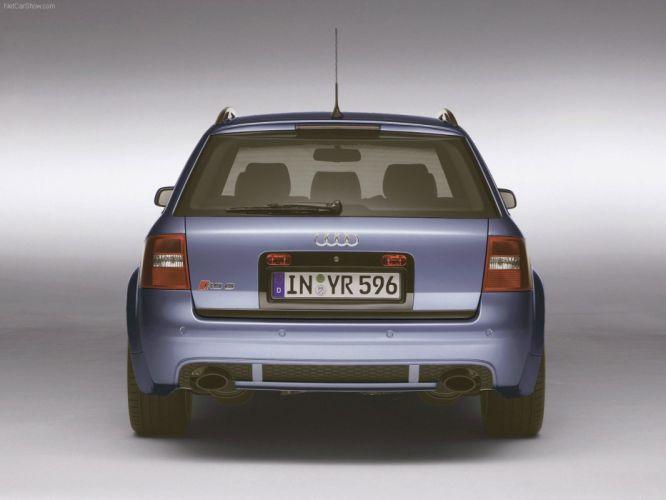 Audi RS6 plus 2004 wallpaper