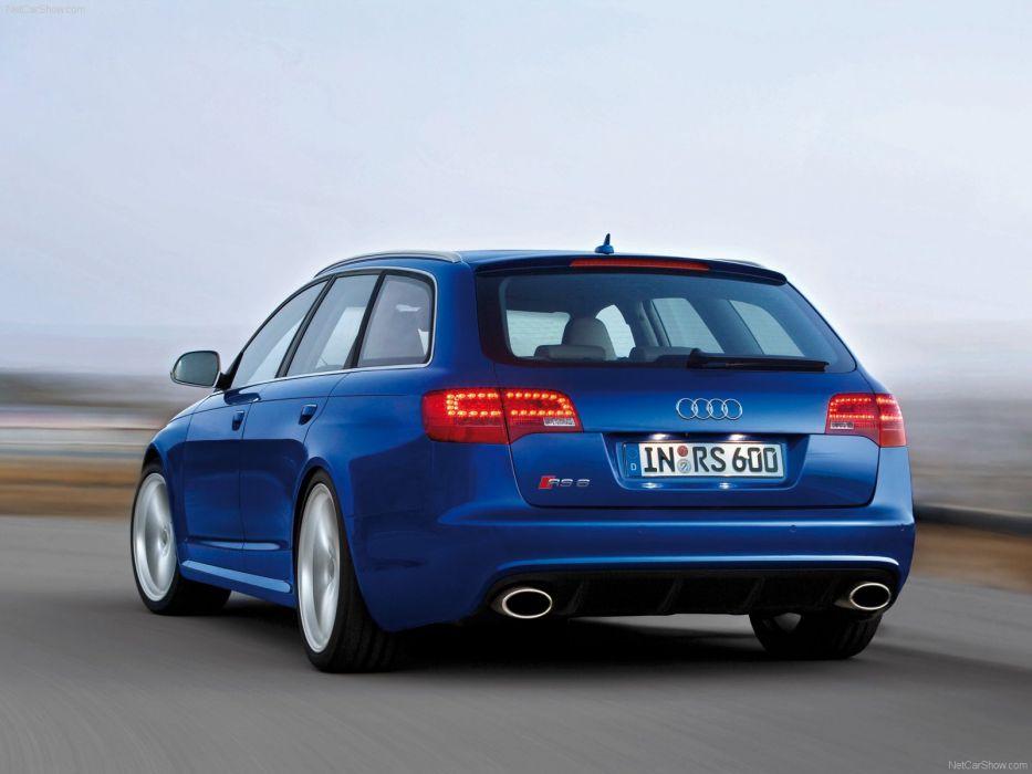 Audi RS6 Avant 2008 wallpaper