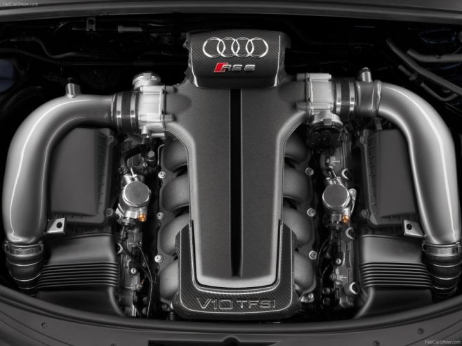 Audi RS6 Avant 2008engine wallpaper