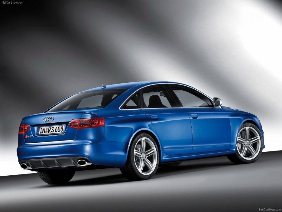 Audi RS6 sedan 2009 wallpaper