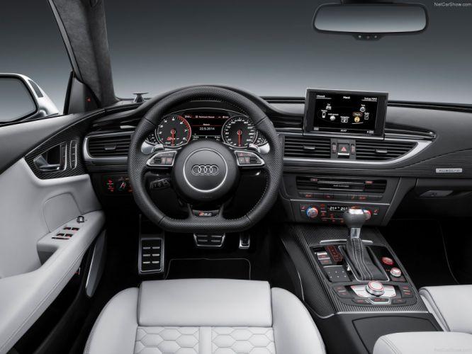 2015 4000x3000 Audi car Germany rs7 Sport Sportback Supercar vehicle wallpaper interior wallpaper