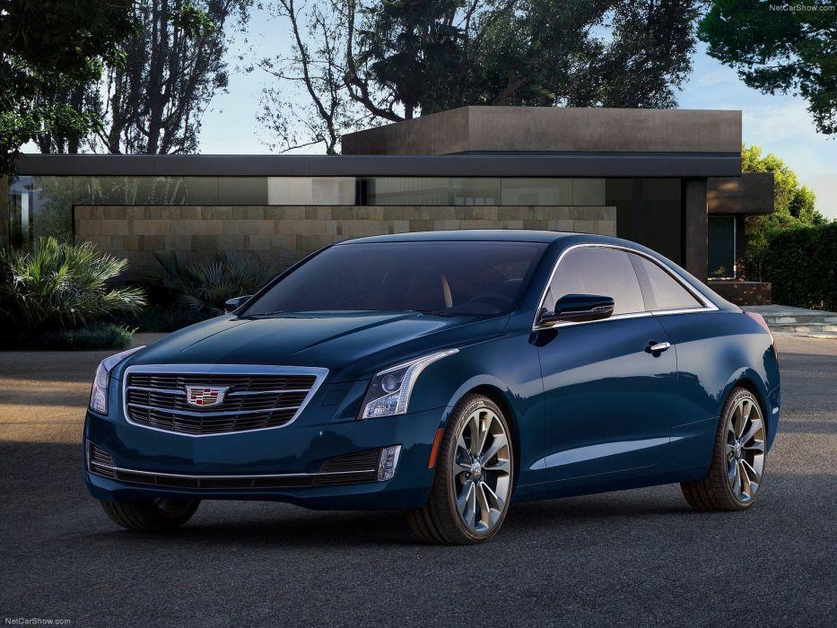 Cadillac ATS Coupe 2015 wallpaper
