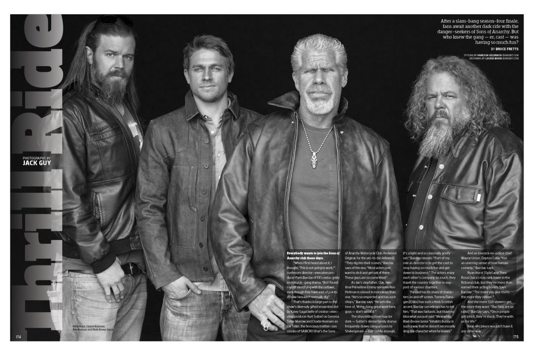 SONS OF ANARCHY series biker crime drama thriller wallpaper