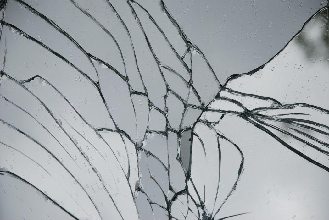 broken glass shattered crack abstract window bokeh pattern psychedelic wallpaper