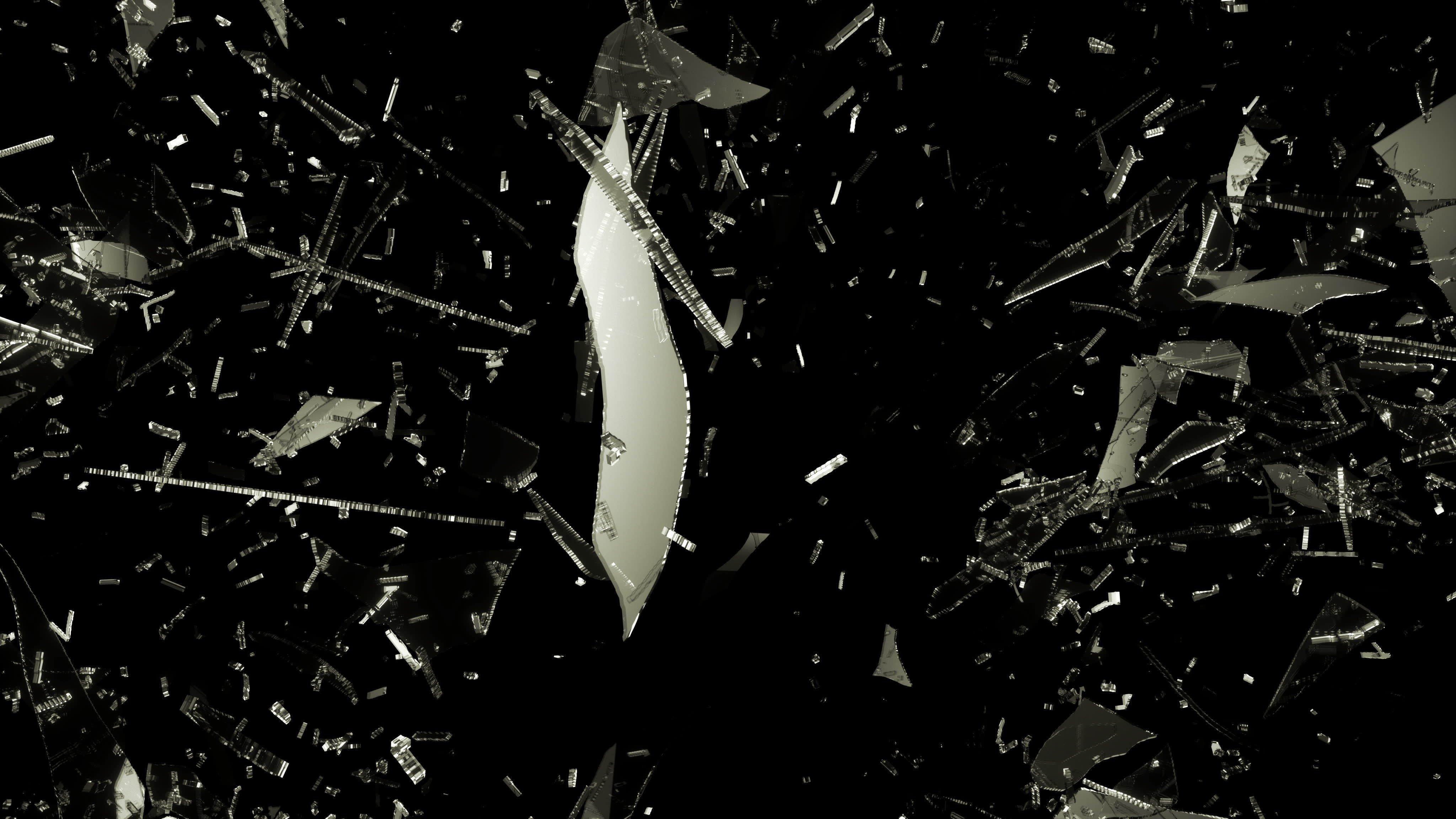 Broken Glass Drawing Tutorial