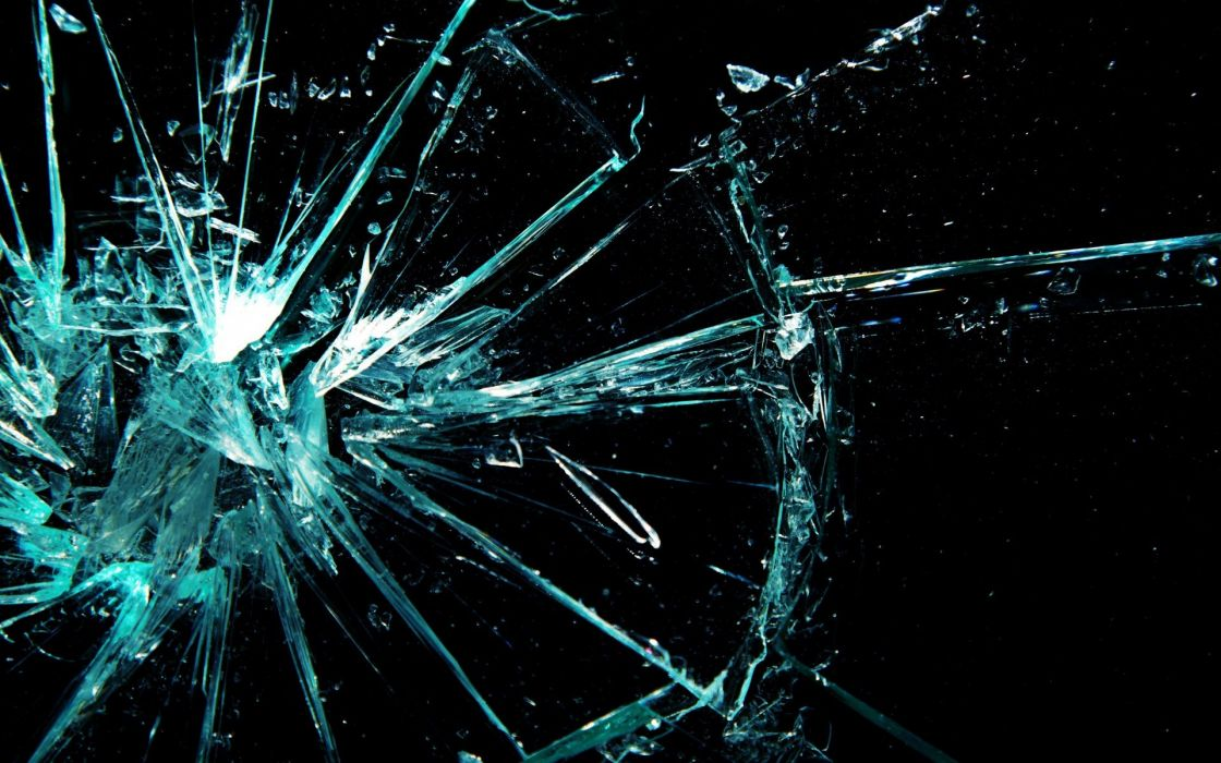 broken glass shattered crack abstract window bokeh pattern psychedelic wallpaper