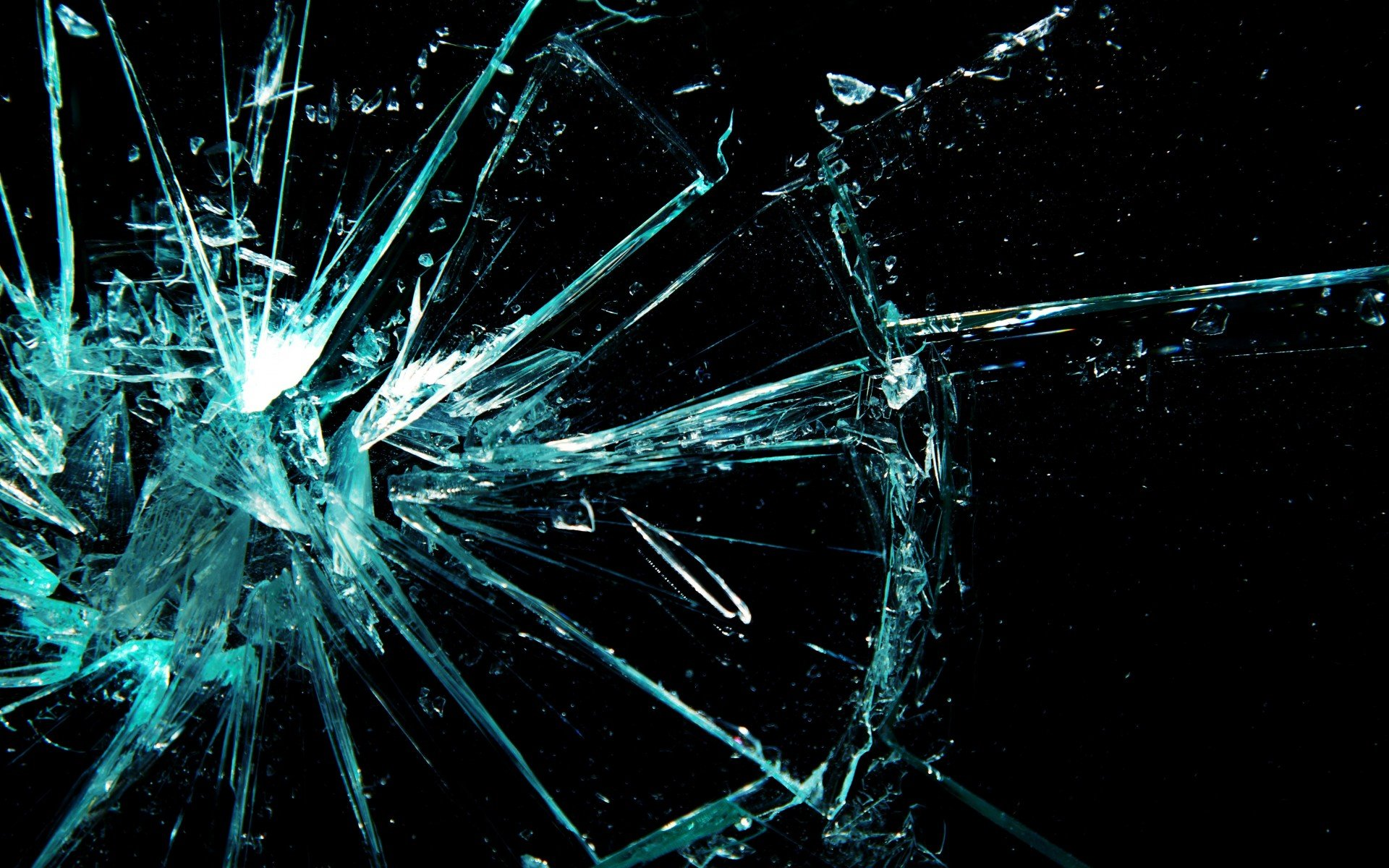 Cracked Glass Glass Shattered Crack