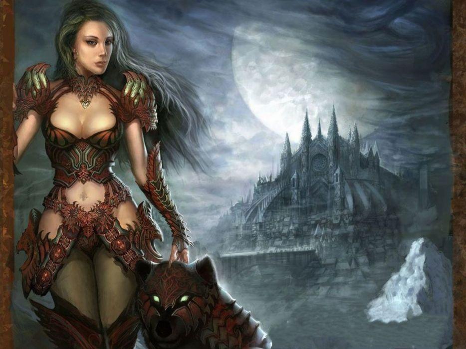 Sexy fantasy women wallpaper