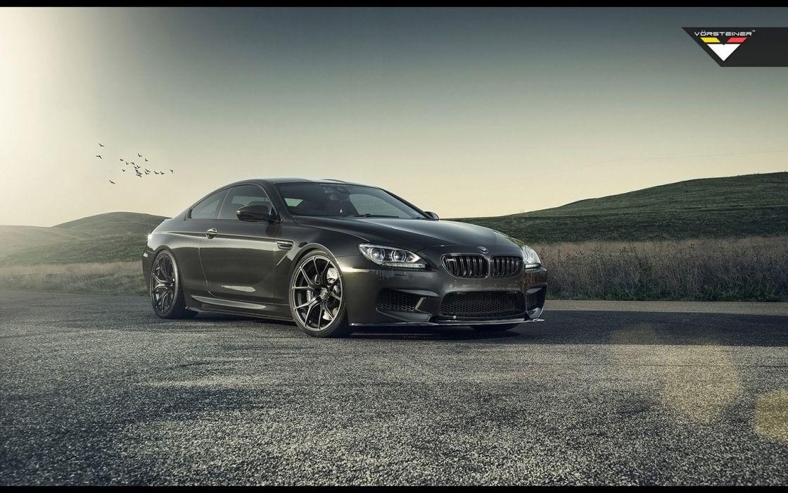 2014 Vorsteiner wheels BMW F13 M6 tuning wallpaper