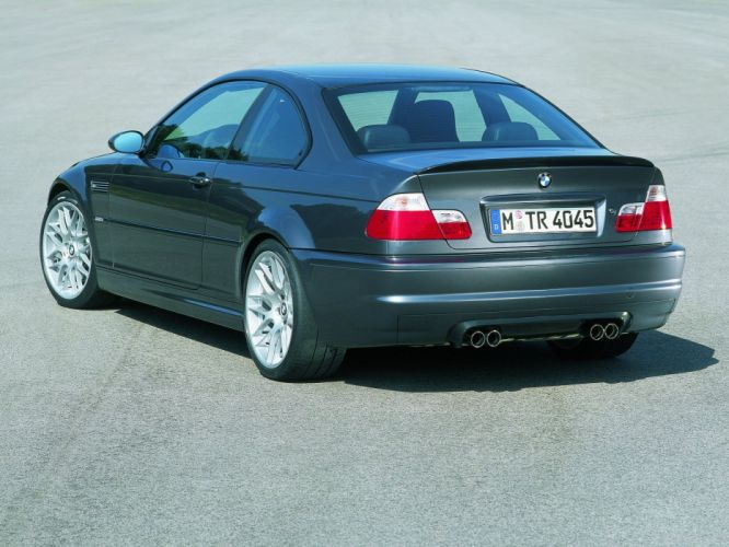 2003 BMW Coupe csl e46 m 3 uk spec wallpaper
