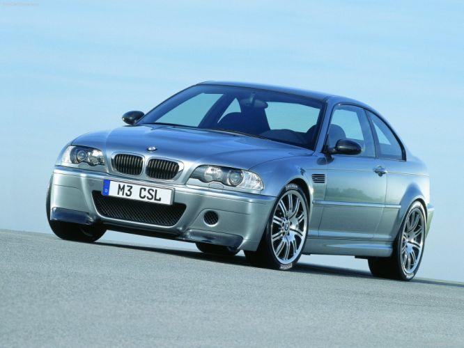 2003 BMW Coupe csl e46 m 3 uk spec wallpaper