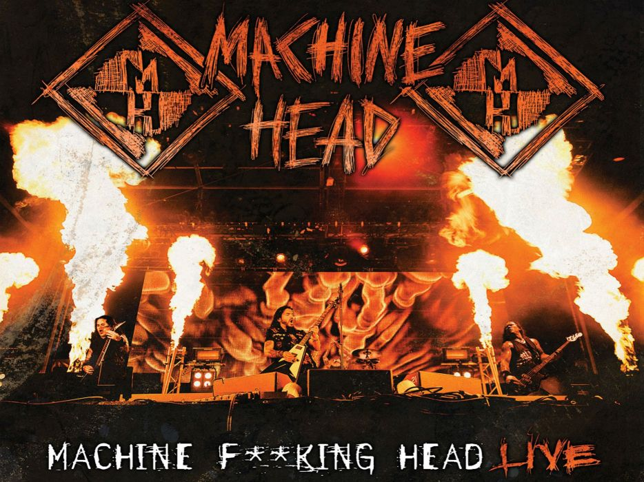 MACHINE-HEAD heavy metal thrash nu-metal groove machine head wallpaper