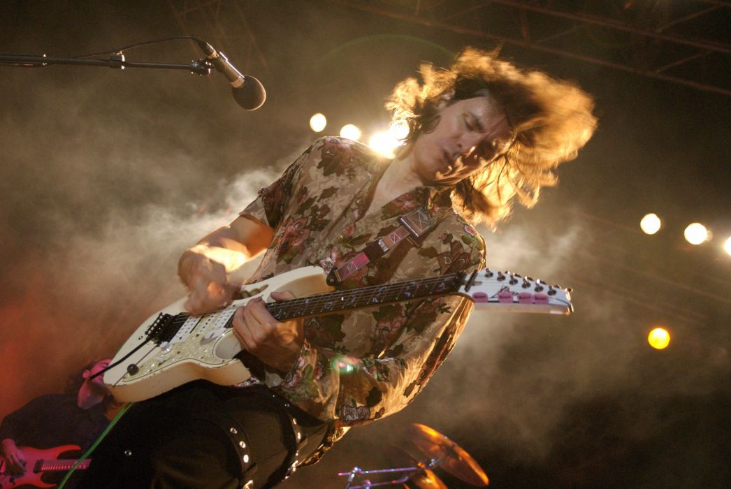 STEVE-VAI guitar hard rock progressive heavy metal steve vai concert wallpaper