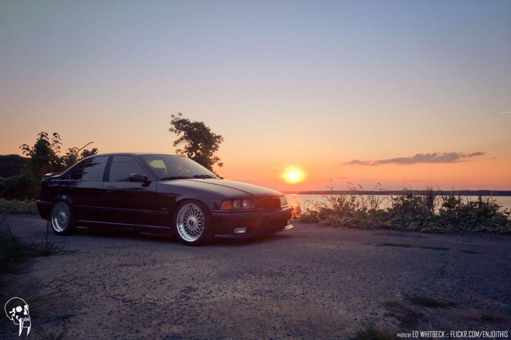 BMW sedan sportcars m 3 e 36 wallpaper