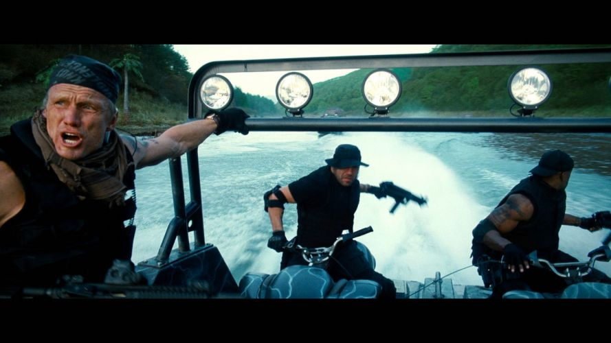 EXPENDABLES 2 action adventure thriller (7) wallpaper