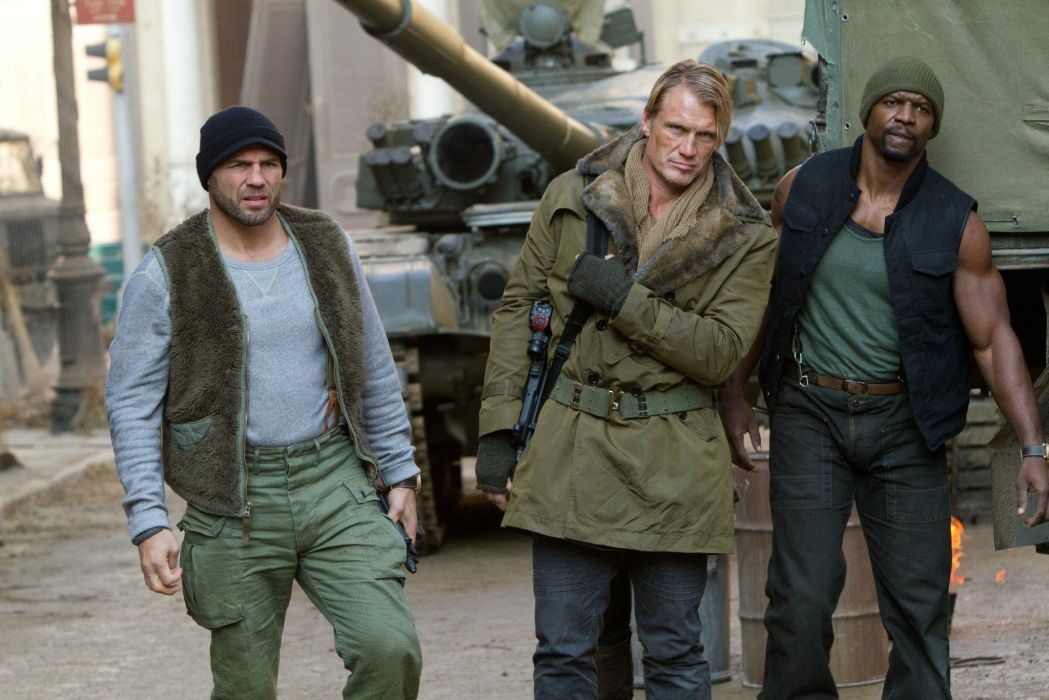 EXPENDABLES 2 action adventure thriller (15) wallpaper
