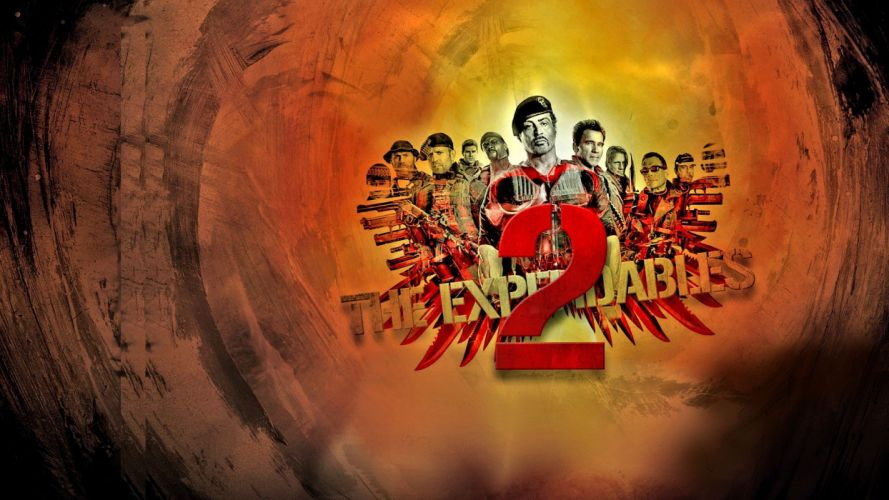 EXPENDABLES 2 action adventure thriller (20) wallpaper