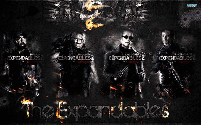 EXPENDABLES 2 action adventure thriller (21) wallpaper