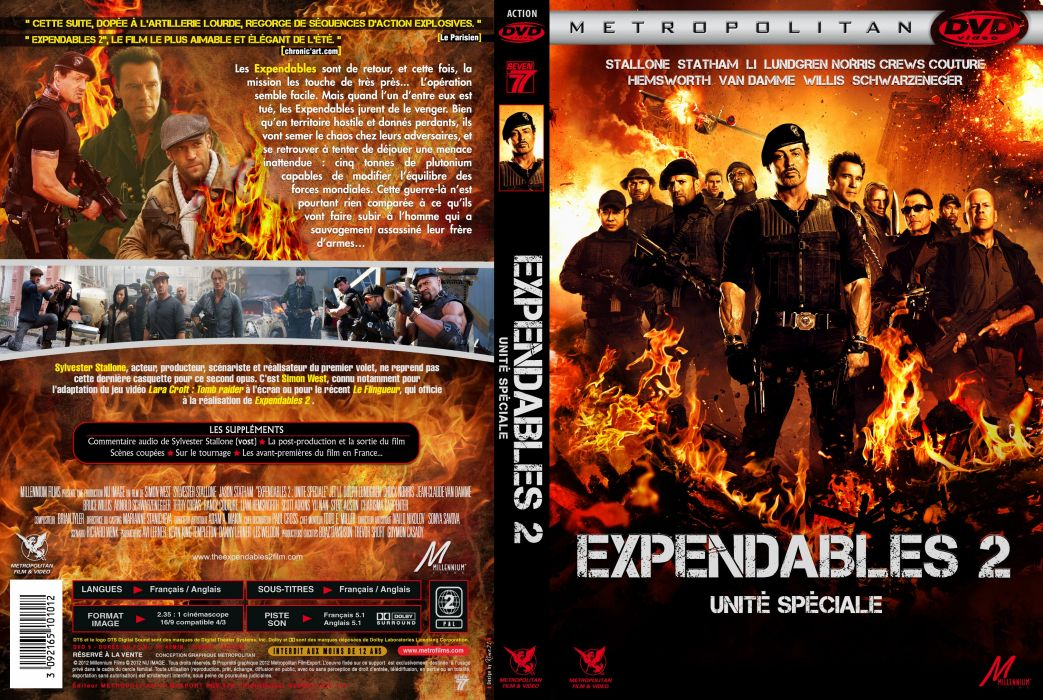 EXPENDABLES 2 action adventure thriller (18) wallpaper