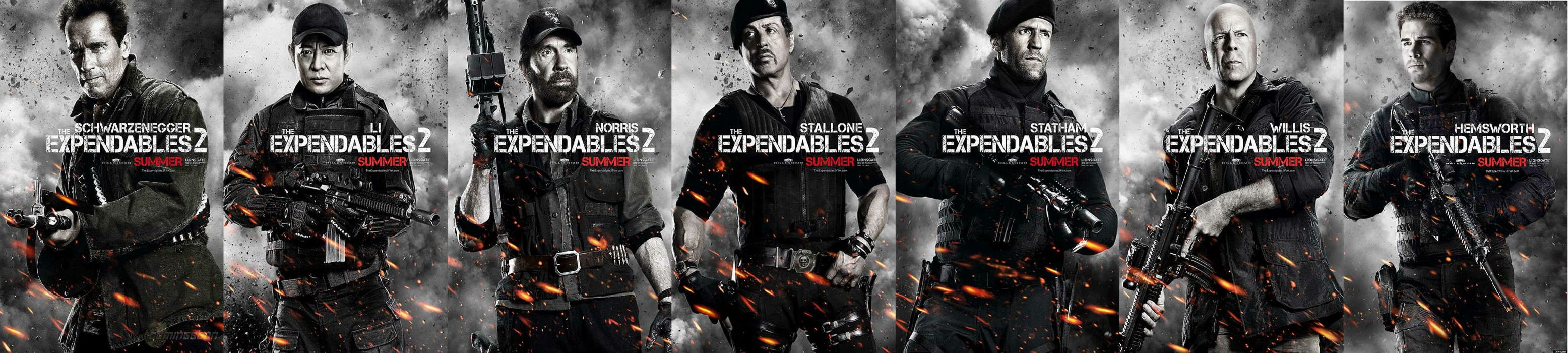 EXPENDABLES 2 action adventure thriller (23) wallpaper