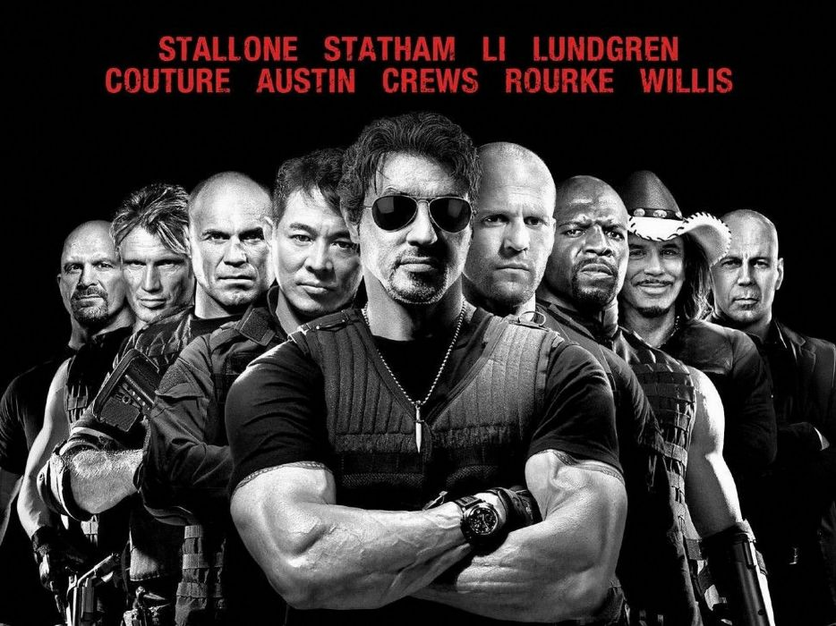 EXPENDABLES 2 action adventure thriller (24) wallpaper