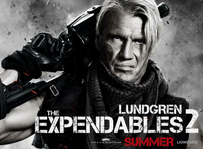 EXPENDABLES 2 action adventure thriller (30) wallpaper