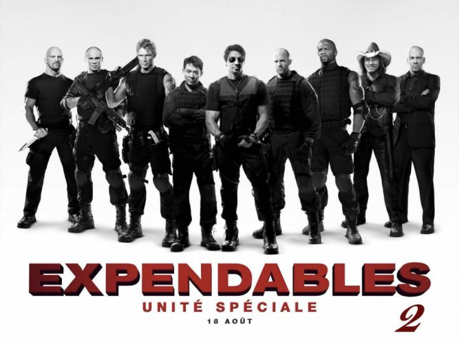 EXPENDABLES 2 action adventure thriller (33) wallpaper