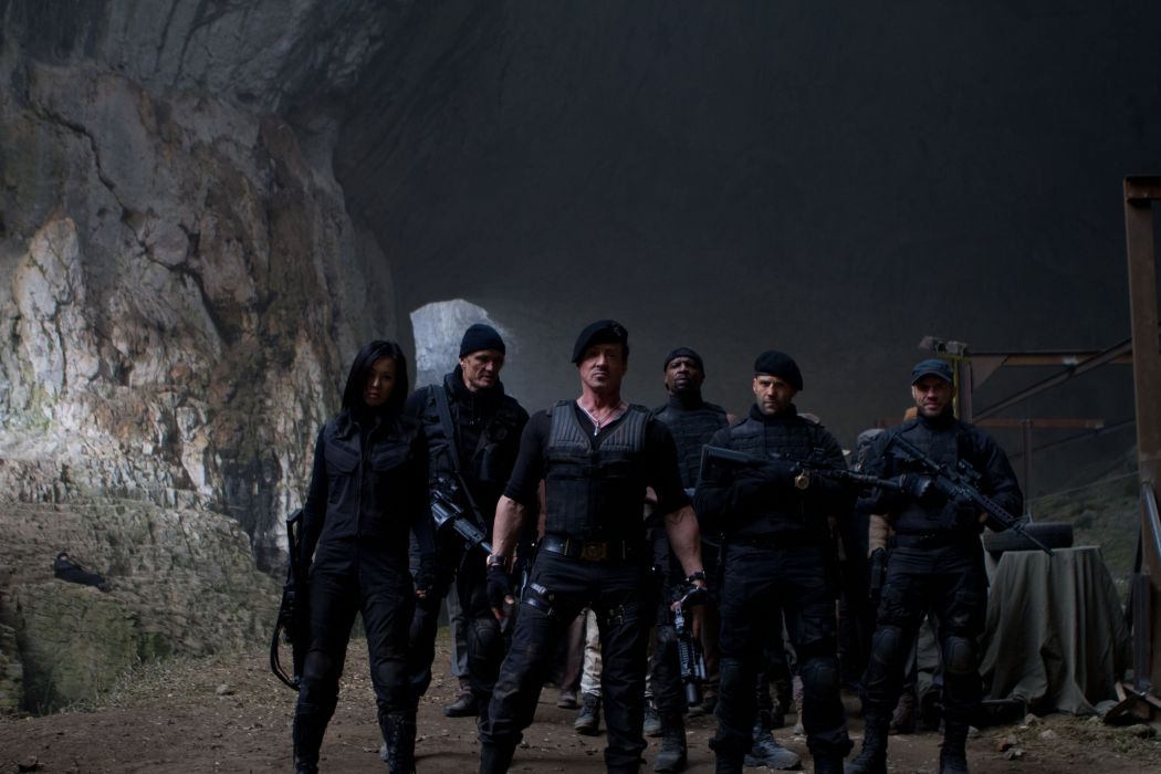 EXPENDABLES 2 action adventure thriller (43) wallpaper