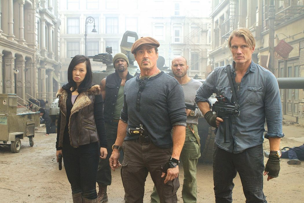 EXPENDABLES 2 action adventure thriller (46) wallpaper