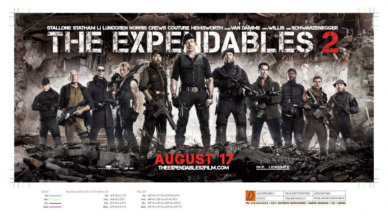 EXPENDABLES 2 action adventure thriller (49) wallpaper