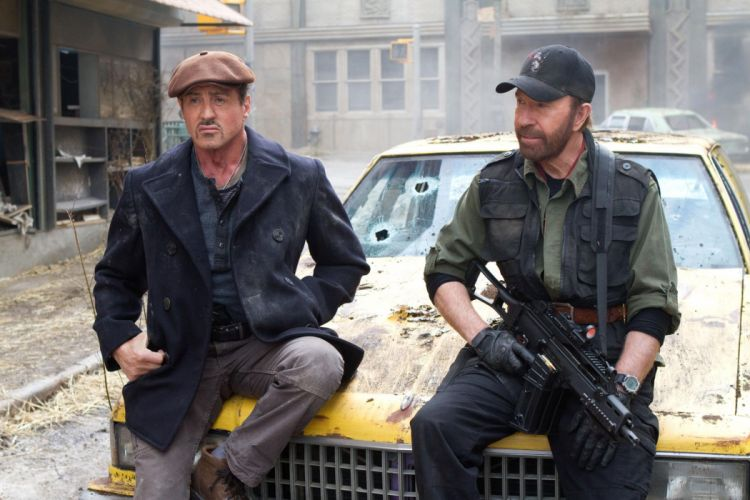 EXPENDABLES 2 action adventure thriller (48) wallpaper