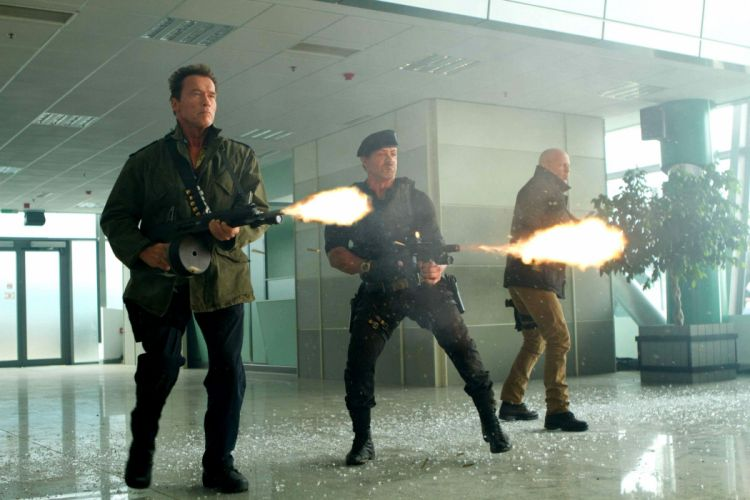 EXPENDABLES 2 action adventure thriller (50) wallpaper